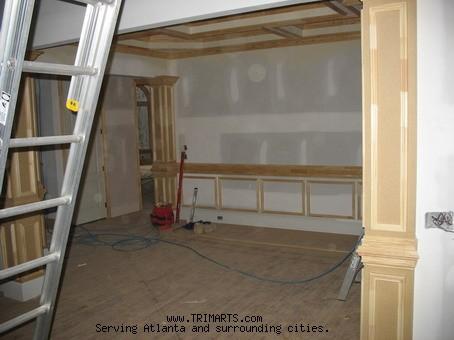 Professional Carpentry, Trim and Cabinets in Atlanta- Columns ...
