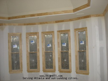 5 Cased Windows