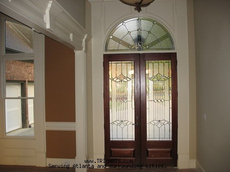 Arched Door Pediment