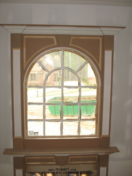 Front Window Pediment