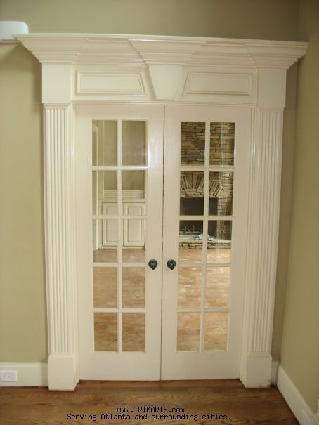 Door pediments shown here is a doorway surround for a - Decorative exterior door pediments ...