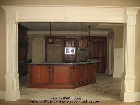 Professional Carpentry Trim And Cabinets In Atlanta Pediments
