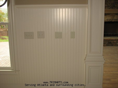 Beaded Wainscoting