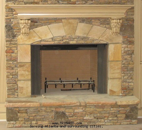 Fireplace Top w Corbels