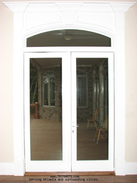 Master Bedroom Door Pediment