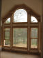 Arched Pediment Windows