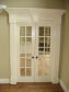 Pediment French Door