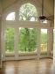 Radiused Window Pediment Left